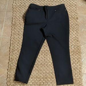 Christopher Banks Navy Slimming Pants.